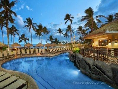 오아후 섬 서쪽 해안에 위치한 라군에 둘러싸인 휴양 호텔