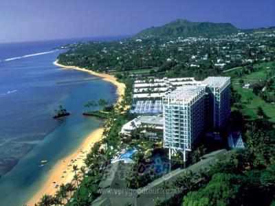 [자랑하고픈 나의 하와이에서의 일주일] 하와이 일주는 기본 + 카할라호텔 브런치 / 다이아몬드헤드 선셋감상 7일
