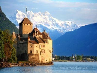여유있게 스위스 한나라만, 비즈니스석 탑승하여 보다 편안하게 하는 여행입니다.