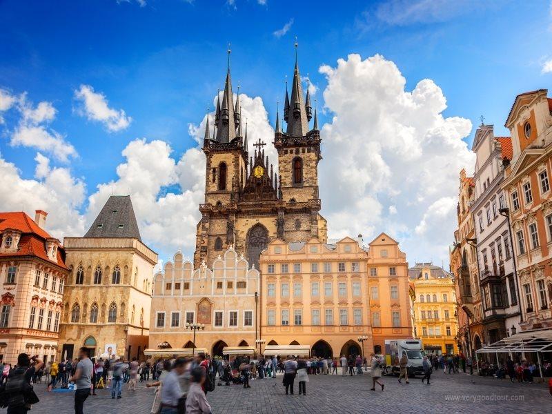 BEST【느리게 걷기, 여유있게 보는 프라하 2박】 동유럽 3개국(체코.오스트리아.헝가리) 8일 ※프라하야경+나만의 프라하 여행