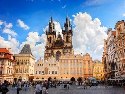 【느리게 걷기. 여유있게 보는 프라하 2박】 동유럽 3개국(체코/오스트리아/헝가리) 8일 ※ 프라하야경+나만의 프라하 여행