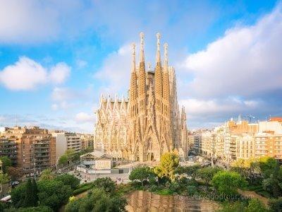 바르셀로나 자유시간, 전일 일급 호텔, 대한항공 국적기 이용