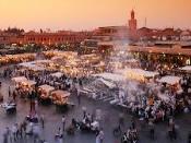 마라케시 시장