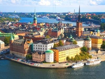 스톡홀름 전경