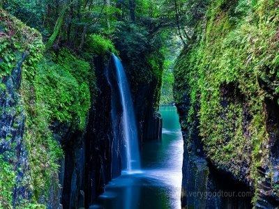 쉐라톤 호텔1박, 신비로운 남쪽의 자연, 일본 폭포 100선 다카치호 협곡 포함