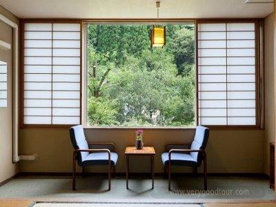 □ 오전출발-저녁리턴 / 료칸&온천호텔 숙박+유카타체험