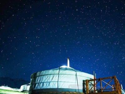 [허르헉(양고기),샤브샤브,한식+게르 1박 체험] 세계 3대 별관측지 몽골 초원에서의 별자리 여행!
