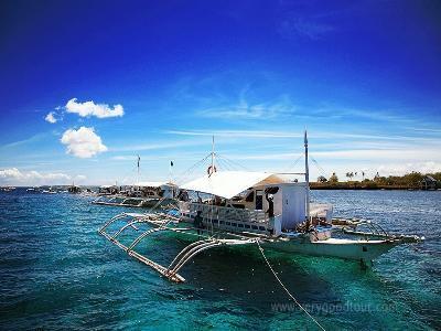 ◆ 마닐라의 다이빙 포인트로 유명한 바탕가스에서 호핑투어와 바나나보트를 체험할 수 있는 상품