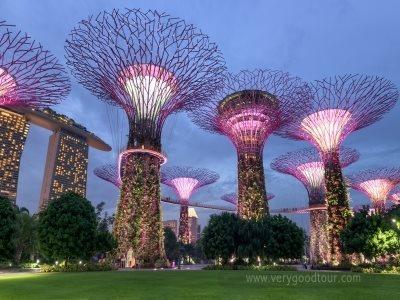 전일정 싱가포르 투숙, 여유있는 하루자유 일정, 가든스바이더베이, 칠리크랩