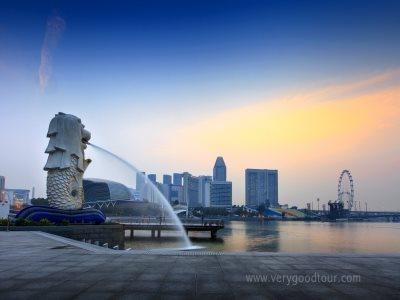 싱가포르 1박, 바탐 2박 준특급 호텔 투숙 가든바이더베이와 슈퍼트리 관광, 칠리크랩, 싱가포르항공