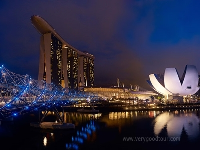 싱가포르 플라이어, 가든스 바이더 베이, 오차드로드, 칠리크랩, 카야토스트, 슬링, 리버보트 모두 포함!