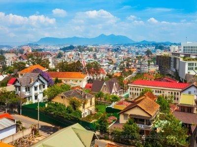 해발 1500m에 위치한 영원한 봄의도시, 유럽같은 베트남 달랏, 랑비앙산+판티엣 짚차투어 포함, 사이공 선상디너
