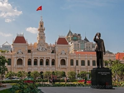 베트남 경제도시 호치민 중심 지역 관광으로 전일정 5성급 호텔 가이드경비 포함 + 1일 자유일정 포함