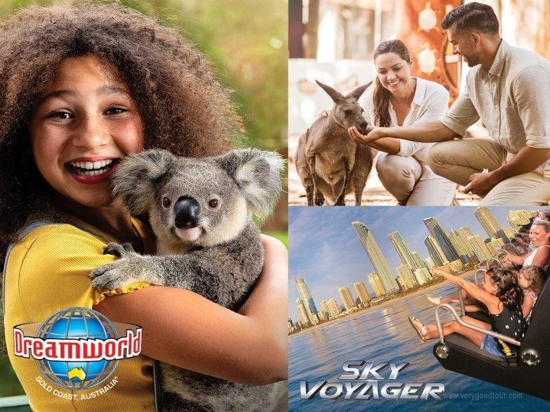[호주 BEST 2大도시 일주] 시드니/골드코스트 6일