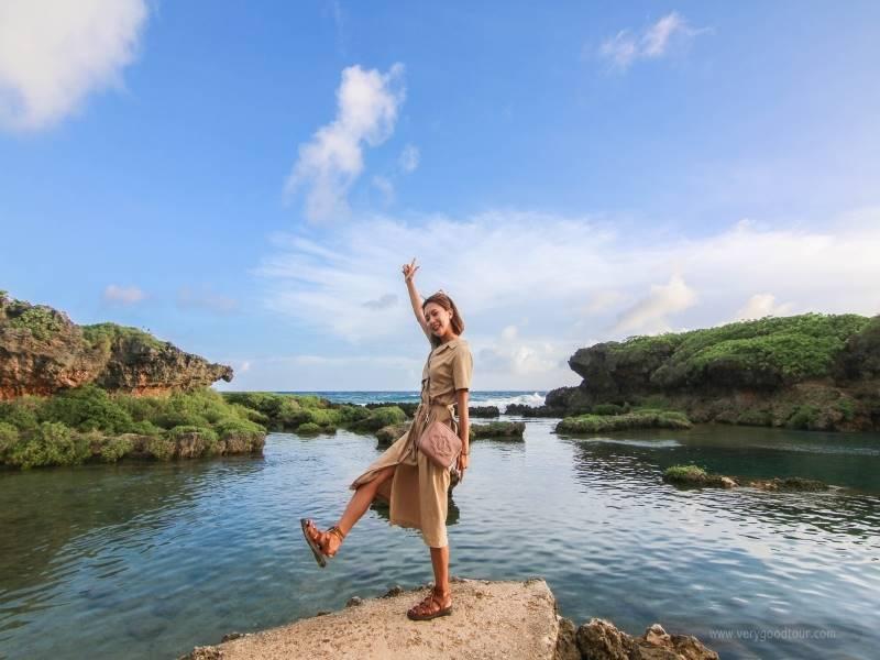 [괌 단독패키지 오전5일] 남북부섬일주,돌핀크루즈,전통쇼BBQ_1일자유일정