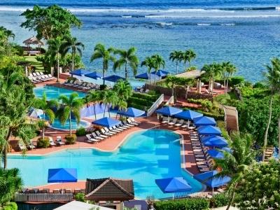 [괌] 힐튼호텔 - 다양한 수영장