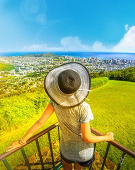 하와이 여행의 재구성