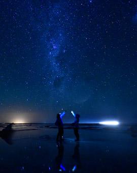 하늘과 가장 가까운 곳에서별을 쫒다.
