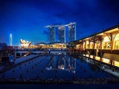 [마리나베이샌즈 1박] 싱가포르 5일 #노팁/노옵션/노쇼핑/리버보트/슬링